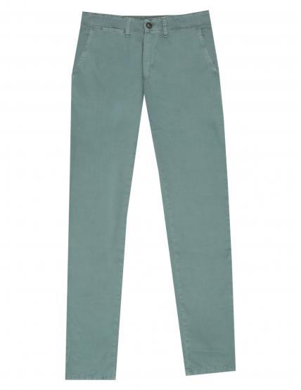 Pantalón  popelin Verde oscuro