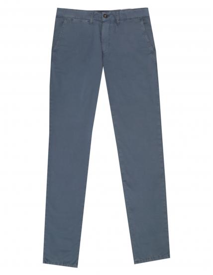 Pantalón  popelin Azul oscuro