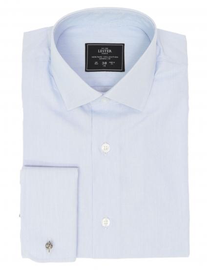 Camisa vestir mil raya p.d Azul