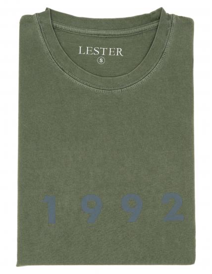 Camiseta lavada 1992 Verde