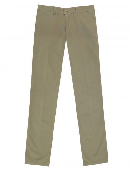 Pantalón gabardina elastan s/p Verde