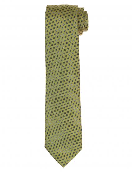Corbata cuadro irregular Verde/azul