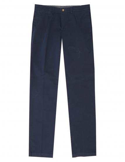 Pantalón gabardina elastan c/p Azul medio