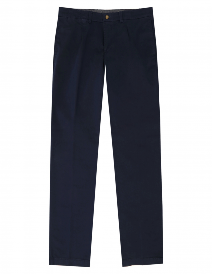 Pantalón gabardina elastan c/p Azul oscuro
