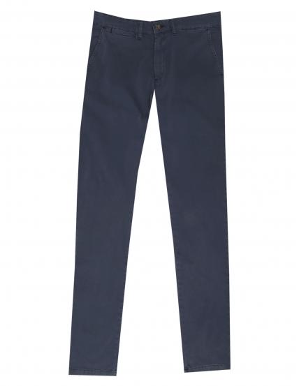 Pantalón  satén lavado Azul