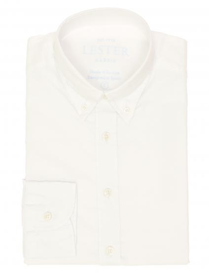Camisa oxford lisa lavada Blanco