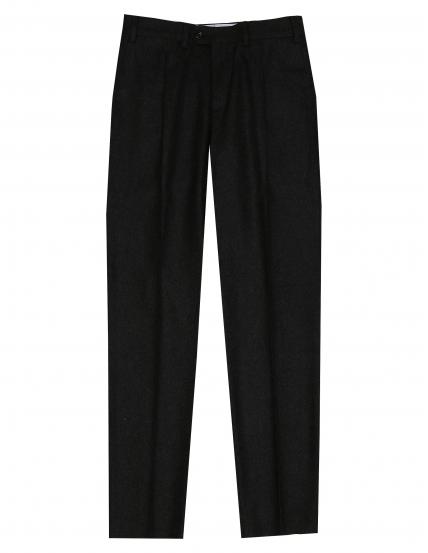 Pantalón franela pinzas Gris oscuro