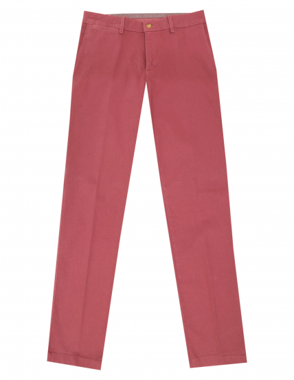 Pantalón canvas Rosa oscuro