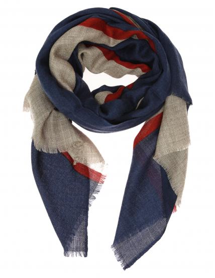 Chal lana middle stripe Azul/rojo