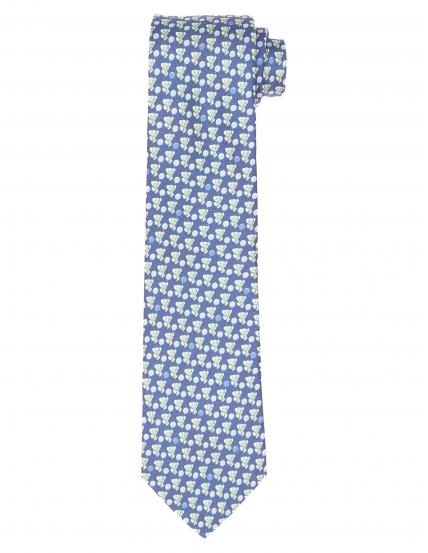Corbata elefante globo Azul/azul