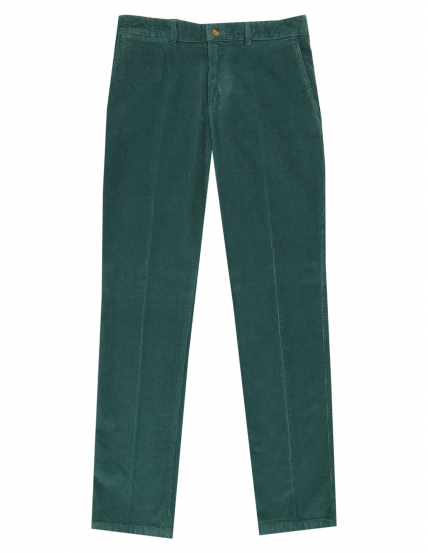 Pantalón pana s/p Verde medio