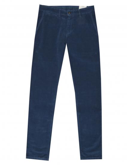 Pantalón micropana lavado Azul