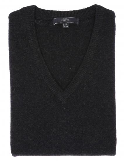 Chaleco sin mangas lana Azul oscuro