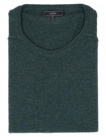 Jersey caja lana Verde