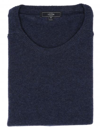Jersey caja lana Azul