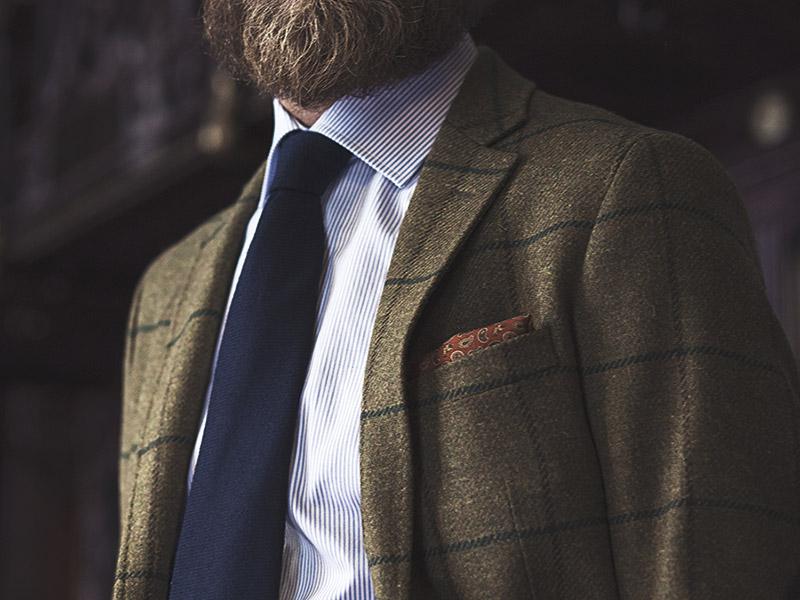 661adf70c Qué hace que una corbata sea más o menos formal  - El Blog de Lester ...