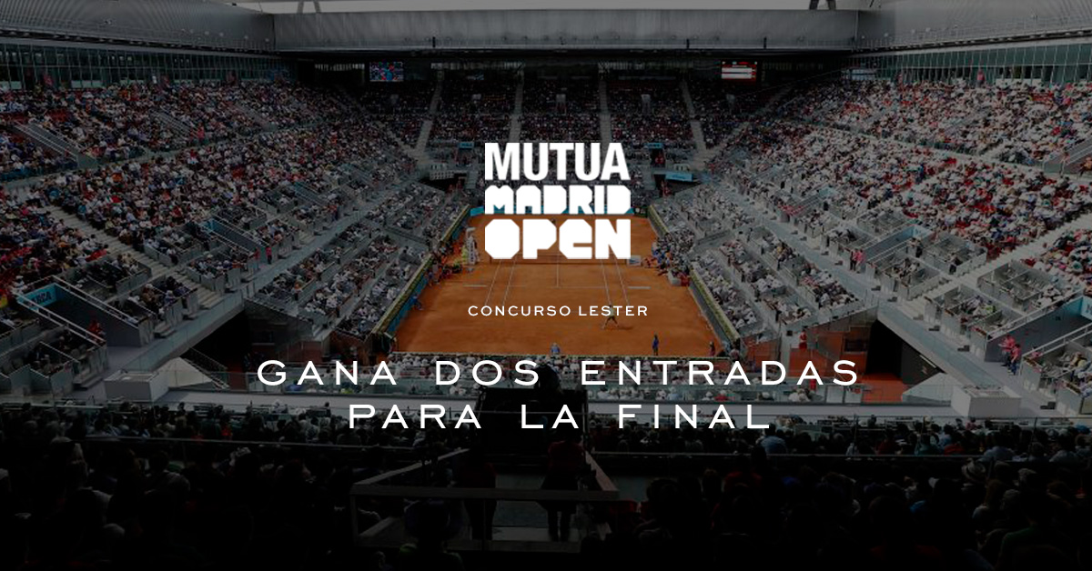 Entradas para la final del Open de Madrid